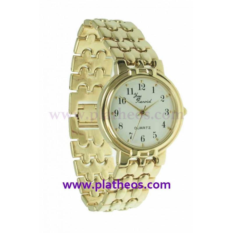 Reloj chapado oro