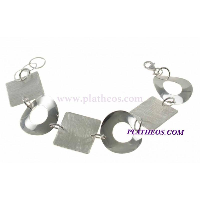 Pulsera plata